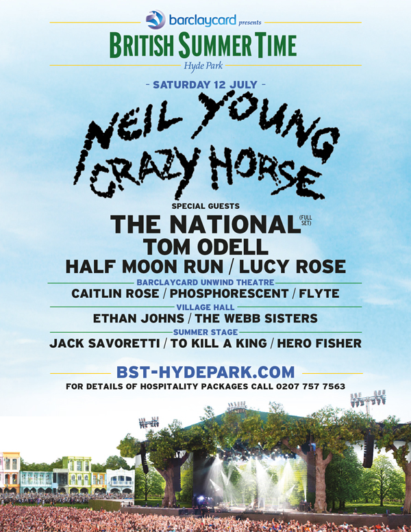 BST Hyde Park With Neil Young And More